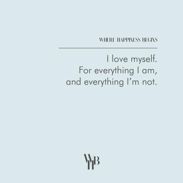 WHB I Love Myself 1