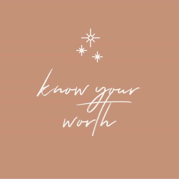@WhereHappinessBegins_ Know Your Worth Illustration by @AshleyMurrayCo